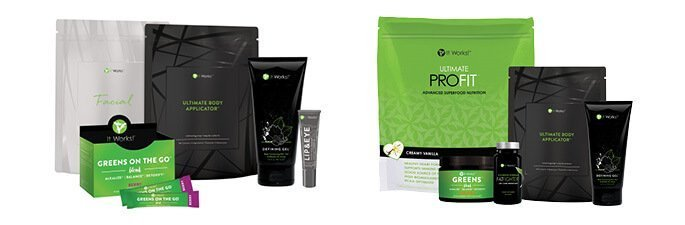 It Works Products like wrap pack, fit pack