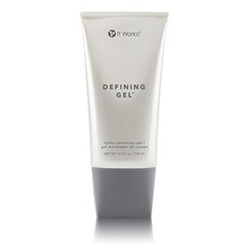 Defining gel to tighten and tone