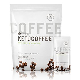 it works Keto Coffee pack one of the top it works products
