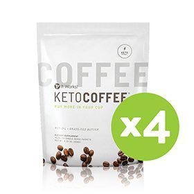 It Works! Keto Coffee® Four-Pack